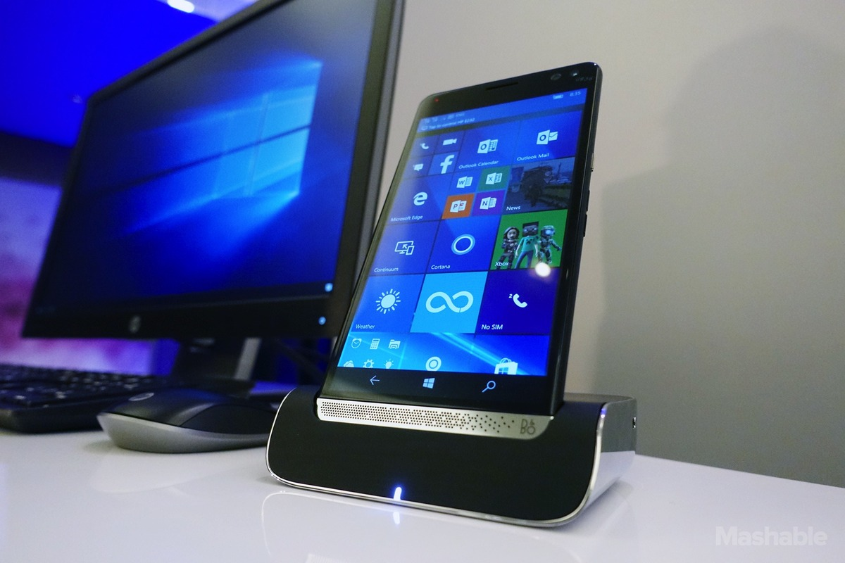 HP floats a new Windows 10 smartphone that could replace your laptop