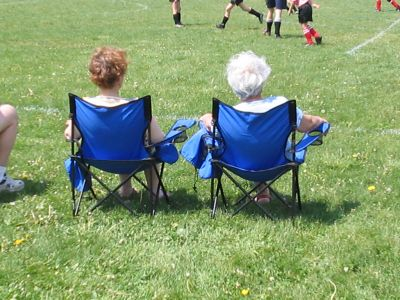 Mom And Dea - Soccer