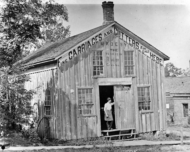 "1899 Concord, Michigan ""Buggy & Wagon Shop"""