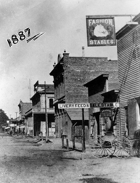 1887-West Center Street, Anaheim, California. Now we have Disneyland here!