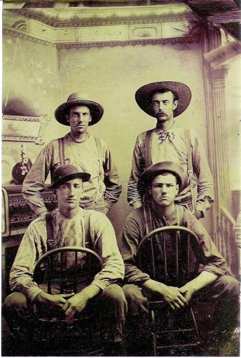 This is what real cowboys looked like in 1887.